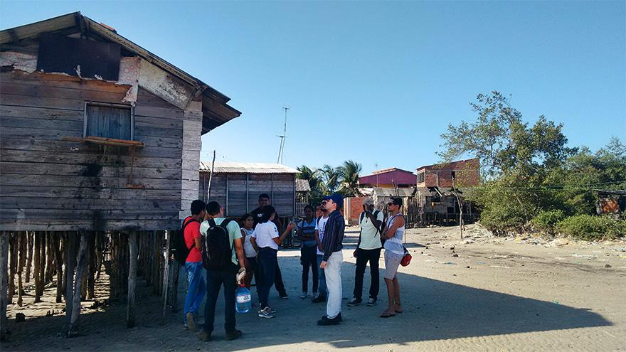 Atividade de campo no Município da Raposa com professores e alunos do PPGeo